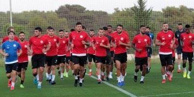 Antalyaspor, Yeni Malatyaspor Maçı Hazırlıklarına Başladı