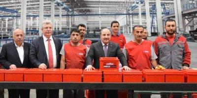 Sanayi Ve Teknoloji Bakanı Varank'tan, Ako Akü Fabrikasına Ziyaret
