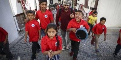"""Altındağ Belediyesinden """"Kale Çocukları""""na Eğitim"""