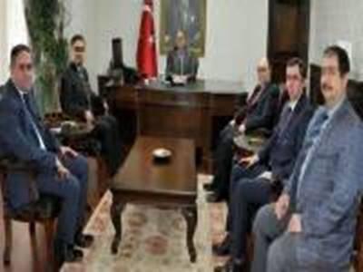 Karaman'ın Sağlık Yöneticilerinden Valiye Ziyaret