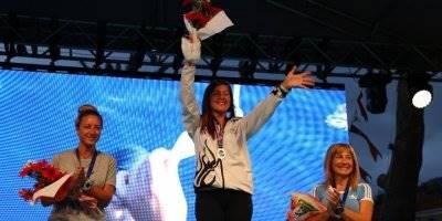 Serbest Dalış Şampiyonasında Derin Ve Erken Şampiyon