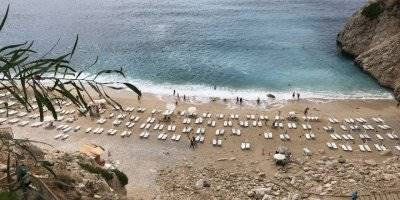 Antalya'da Önce Fırtına Sonra Deniz Keyfi