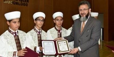 Karaman'da Hafızlık İcazet Töreni
