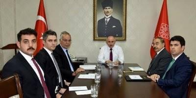 Karaman Valisi ve Yardımcıları İstişare Toplantısı