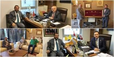 Rektörü Prof. Dr. Mehmet Akgül'ün Ankara Ziyaretleri