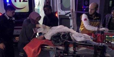 Karaman'da Aile İçi Şiddet Hastane Sonlandı