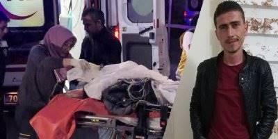Karaman'da Bıçaklanan Gençten Acı Haber Geldi