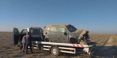 Aksaray'da Cip Devrildi: 5 Yaralı