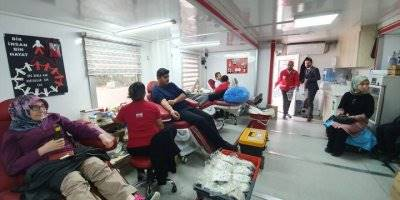 Kmü Kazımkarabekir Meslek Yüksekokulu'nda Kan Bağışı Kampanyası