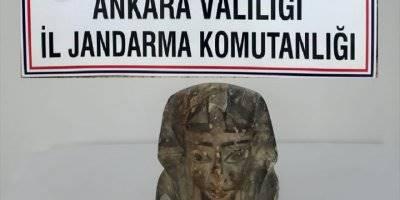 Başkentte Tarihi Eser Kaçakçılığı İddiasıyla 2 Şüpheli Yakalandı