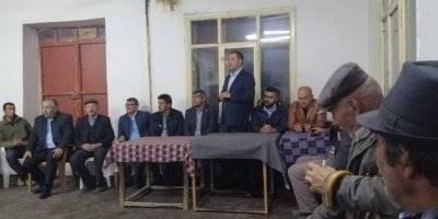 Karaman'da Mhp'nin Köy Ziyaretleri Devam Ediyor