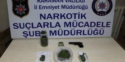 Karaman'da Narkotik Ekiplerinini Kasım Ayı Raporu