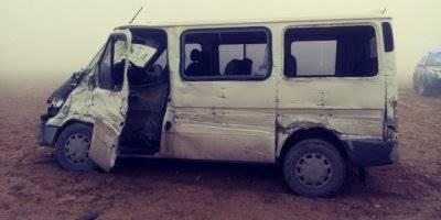 Öğretmenleri Taşıyan Minibüs Kamyonla Çarpıştı: 13 Yaralı