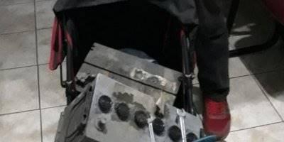 Sabah Saat 04.00'da Bebek Arabasını Kontrol Eden Polis Şok Oldu