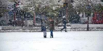Karaman, Konya, Aksaray ve Niğde'de Kar Yağışı