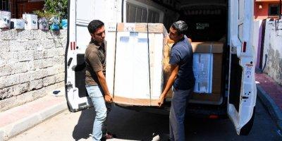 Mersin Büyükşehir Belediyesi'nden Yangın Mağduru Ailelere Destek