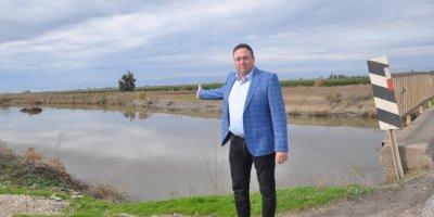 Mersin'de Zarar Gören Tarım Arazilerinde Hasar Tespit Çalışmaları