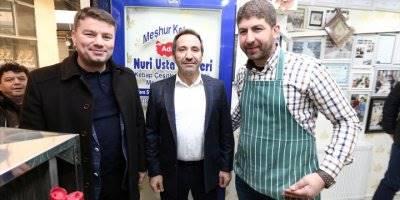 Vali Ali Mantı Ve Başkan Evran Dinçer'den Esnafa Ziyaret