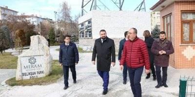 Meram Parkları İle Konya'ya Bir Güzellik Daha Katılıyor