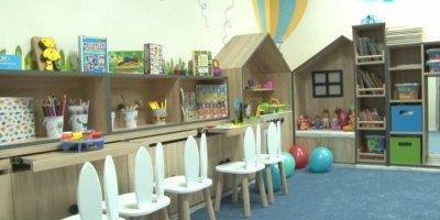 Cezaevinde Anneleriyle Kalan Çocuklara Ana Sınıfı Açıldı
