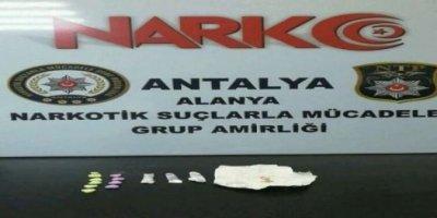 Alanya'da Uyuşturucu Operasyonu: 3 Gözaltı