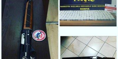 Konya'da Uyuşturucu Hap Ele Geçirildi