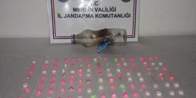 Mersin'de Bir Otomobilde 117 Adet Uyuşturucu Hap Ele Geçirildi
