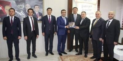 Kırgız Heyetinden Ziyaretler