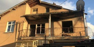 Konya'daki Yangında Engelli Kadın Hayatını Kaybetti