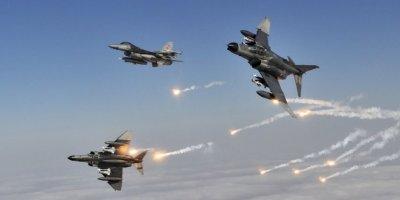 Irak'ın Kuzeyine Hava Harekatı İle 6 Pkk'lı Etkisiz Hale Getirildi