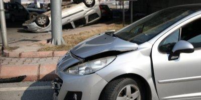 Kayseri'de İki Otomobil Çarpıştı: 5 Yaralı