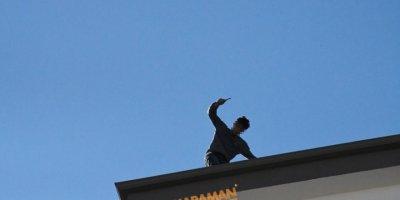 Aksaray'da Suç Makinesi İntihara Kalkıştı