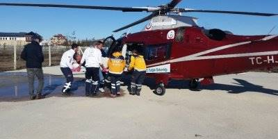 Konya'da Kalp Krizi Geçiren Hasta Zamanla Yarıştı