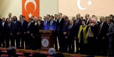 Konya, Karaman, Aksaray ve Afyonkarahisar'dan Mehmetçiğe Ortak Destek