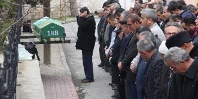 Konya'da Kocasının Öldürdüğü Kadına Son Görev