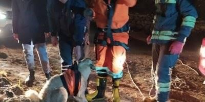 Konya'da İtfaiye Ekiplerinden Kurtarma Operasyonu