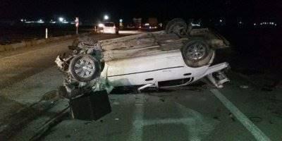 Ereğli'de Trafik Kazasında İki Kişi Yaralandı