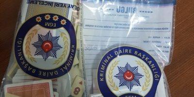 Akşehir'de Kumar Operasyonunda 5 Şüpheli Yakalandı
