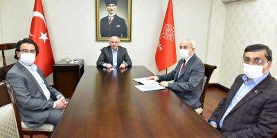 Karaman'da Korona Virüs Tedbirleri Gözden Geçirildi