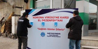 Beyşehir'de Pazar Yerinde Korona Virüs Tedbirleri