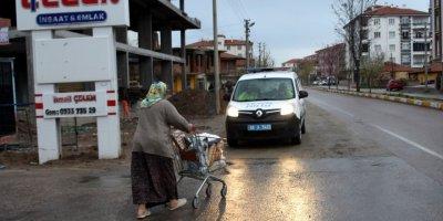Aksaray'da Korona ile Ortaya Çıkan Drama Polis Desteği