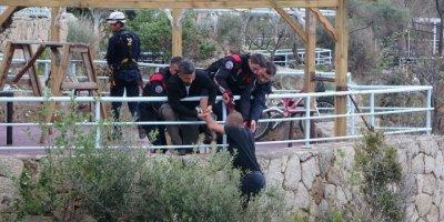Antalya'da Zihinsel Engelli Genç İntihara Kalkıştı