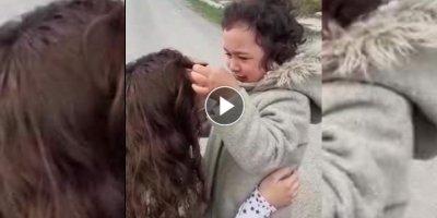 Karaman'da Sağlıkçı Annenin Bir Ay Sonra Kızına Duygulu Kavuşma Anı