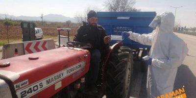 Karaman'da Maske Dağıtımı