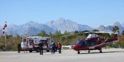 Antalyalı Üç Günlük Bebek Ambulans Helikopterle Konya'ya Sevk Edildi