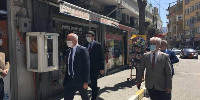 Karaman'ın Ermenek İlçesininde Pandemi Kontrolleri