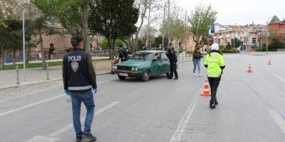 Yasaklar Konya'da Yolları Dinlendirdi