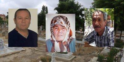 Karaman'da Vefat Eden Beş Vatandaşımız Defnedildi