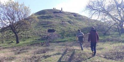 Aksaray'da Definecilerin Çukuruna Porsuk Düştü