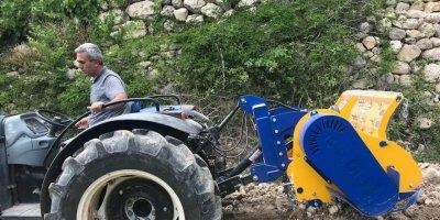 Hasip Kedeleş Ermenek'te Traktörle Kaza Yaptı